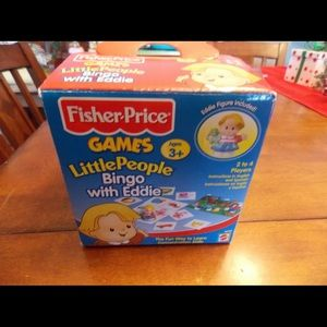 Fisher Price Little People Bingo with Eddie Game